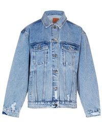 Anine Bing Rory Denim Jacket - Blue