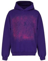 Marni Sweatshirt mit Logoprint Found Objects - Lila