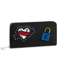 Louis Vuitton Zippy Wallet - Black