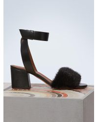 Givenchy - Mink Sandals - Lyst