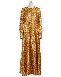 Tory Burch Bea Dress - Metallic