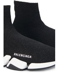 Balenciaga 'Speed' Sneakers mit Schnürung - Schwarz