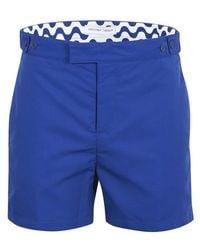 Frescobol Carioca Block Swim Shorts - Blue