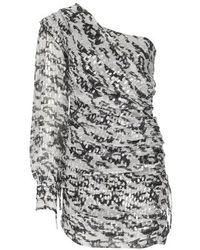 IRO Robe mini Kallar - Noir