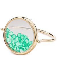 Aurelie Bidermann - Emeralds Chivor Ring - Lyst