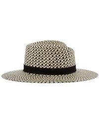 Maison Michel Andre Straw Hat - Black