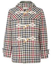 JW Anderson Short Duffle Coat - Multicolour