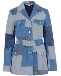 Stella McCartney Safari Jacket - Blue