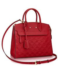 Louis Vuitton Pont-neuf Mm - Red