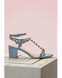 Valentino - Ankle Strap Sandals - Lyst