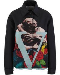 Valentino Light Jacket - Black