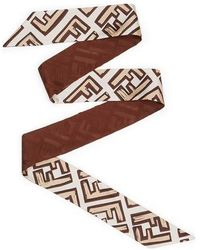 Fendi Wrappy - Marron