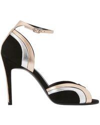 Pierre Hardy Rainbow High-heeled Sandals - Black