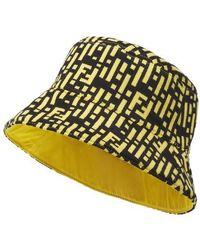Fendi Hat - Yellow