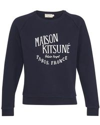 Maison Kitsuné Sweat Palais Royal - Bleu