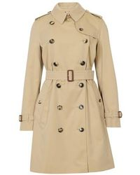 Burberry Islington Trench Jacket - Natural