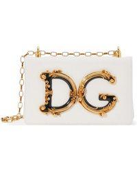 Dolce & Gabbana Dg Girls Shoulder Bag - White