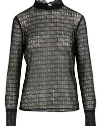 Officine Generale Cynthia Blouse - Black