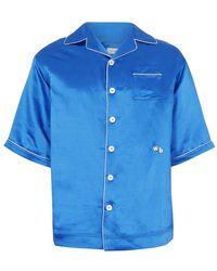 Wales Bonner Chemise Pyjama - Bleu