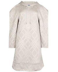 Koche Hoodie Dress - Grey