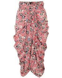 Isabel Marant Betina Skirt - Pink