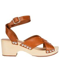 A.P.C. Thelma Sandals - Brown