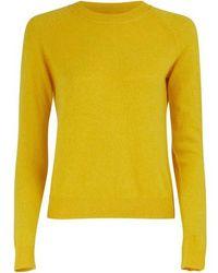 Alexandra Golovanoff Mila 6 Thread Sweatshirt - Yellow