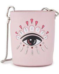 KENZO Eye Mini Bucket Bag - Pink