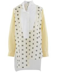 Loewe Long Asymmetric Shirt - White