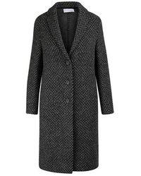 Harris Wharf London 3/4 Coat - Black