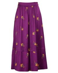 A.P.C. Agathe Skirt - Purple