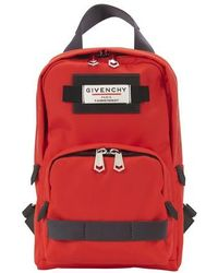 Givenchy Downtown Sling Rucksack - Red