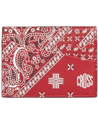 Mark Cross Card Case - Red