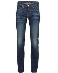 Tom Ford - Japanese Selvedge Straight Denim Pants - Lyst