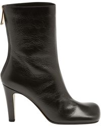 Bottega Veneta Heeled Ankle Boots - Black
