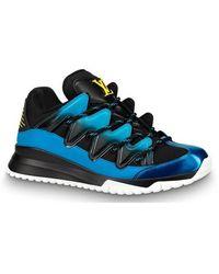 Louis Vuitton Sneaker Zig Zag - Bleu