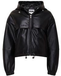 Apparis Israel Puffer Jacket - Black