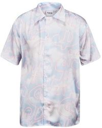 SSS World Corp Clouds Shirt - Blue