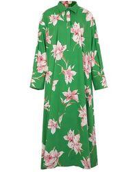 Valentino Long Dress - Green