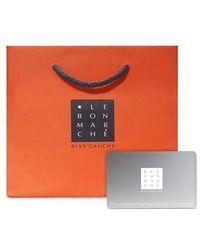Le Bon Marche Carte cadeau 200€ - Orange