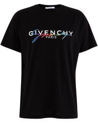 Givenchy T-Shirt mit Logo-Print - Schwarz