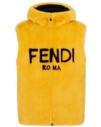 Fendi Gilet - Yellow