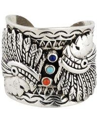 Gas Bijoux Cancun Santa Fe Ring - Metallic
