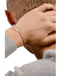 Le Gramme Bracelet ruban le 7g argent 925 lisse brossé - Métallisé