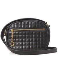 Celine C Small Model Charm Bag - Black