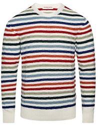 Orlebar Brown Pull Ethan Multi Stripe - Multicolore