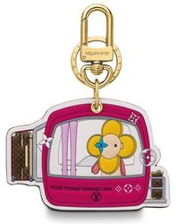 Louis Vuitton Vivienne Xmas Bag Charm And Key Holder - Multicolour