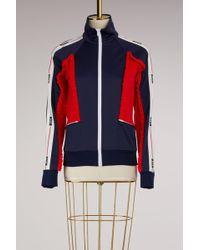 MSGM - Jacket With Logo - Lyst