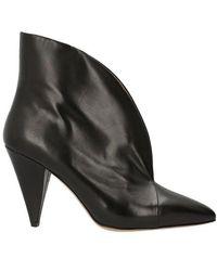 Isabel Marant Arfee Heeled Boots - Black