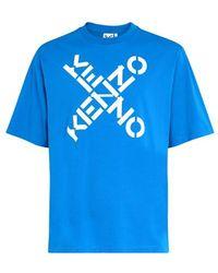 KENZO T-shirt Sport - Bleu